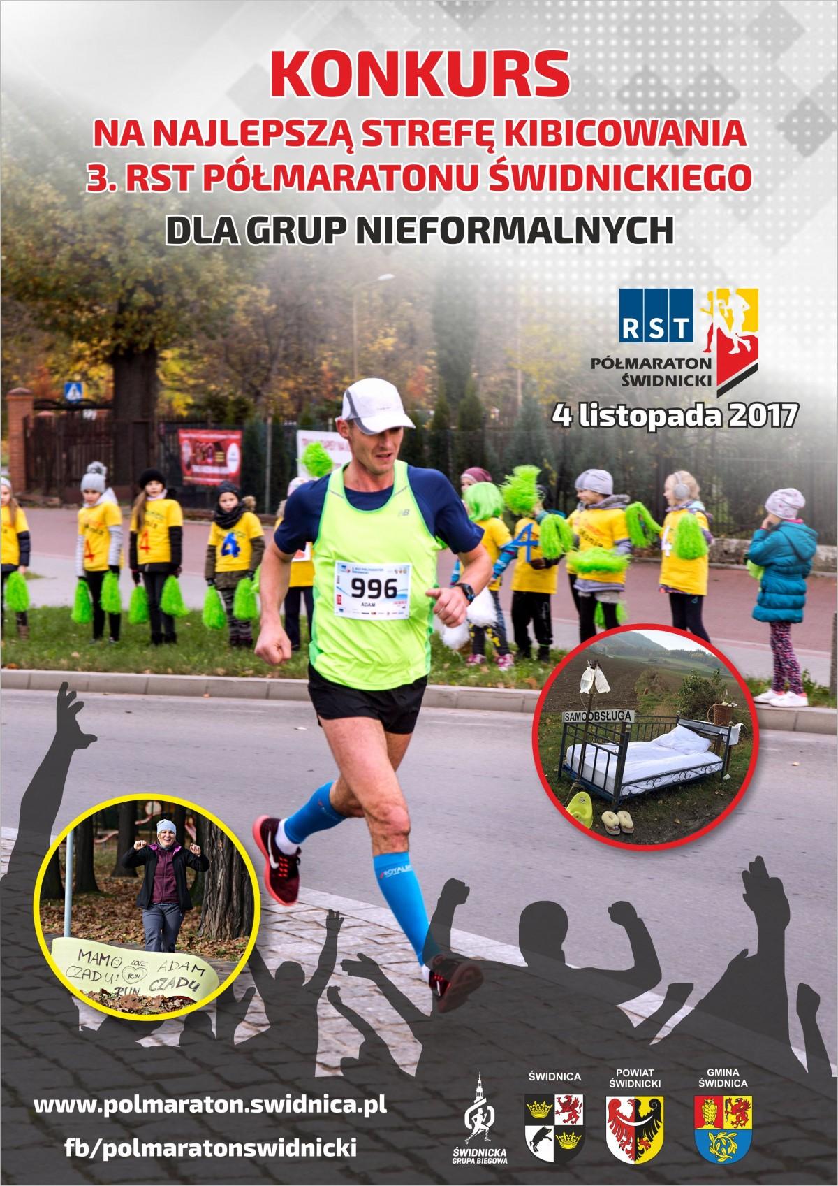 plakat kibicowanie 3 RST Półmaraton