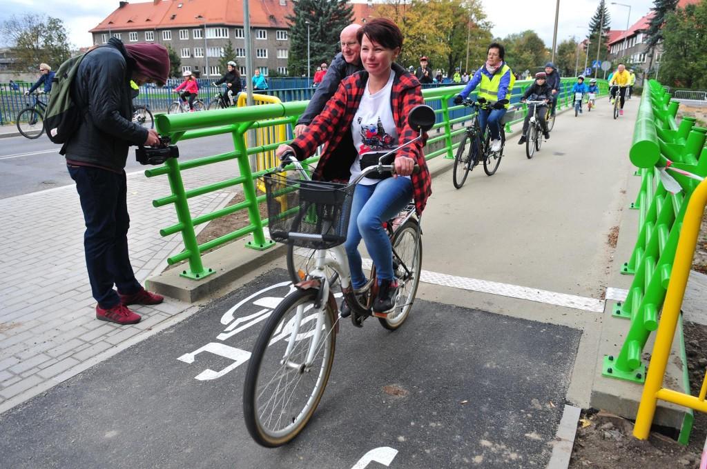 uczestniczka - rowerzystka