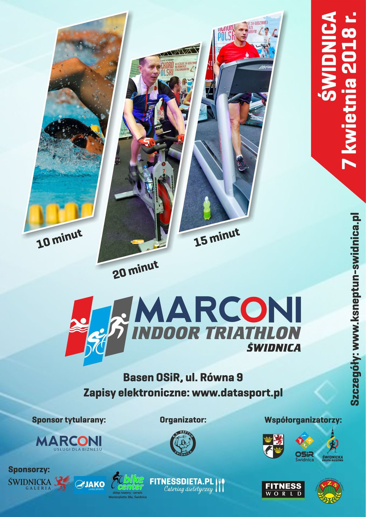plakat indoor triathlon