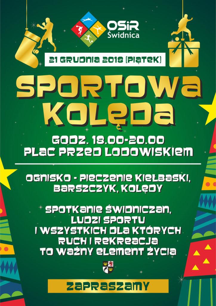 plakat sportowa kolenda