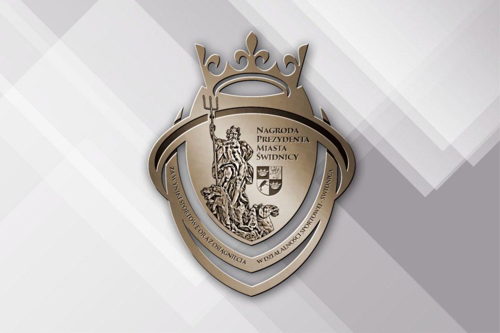 medal nagrody Prezydent Miasta dla sportowców